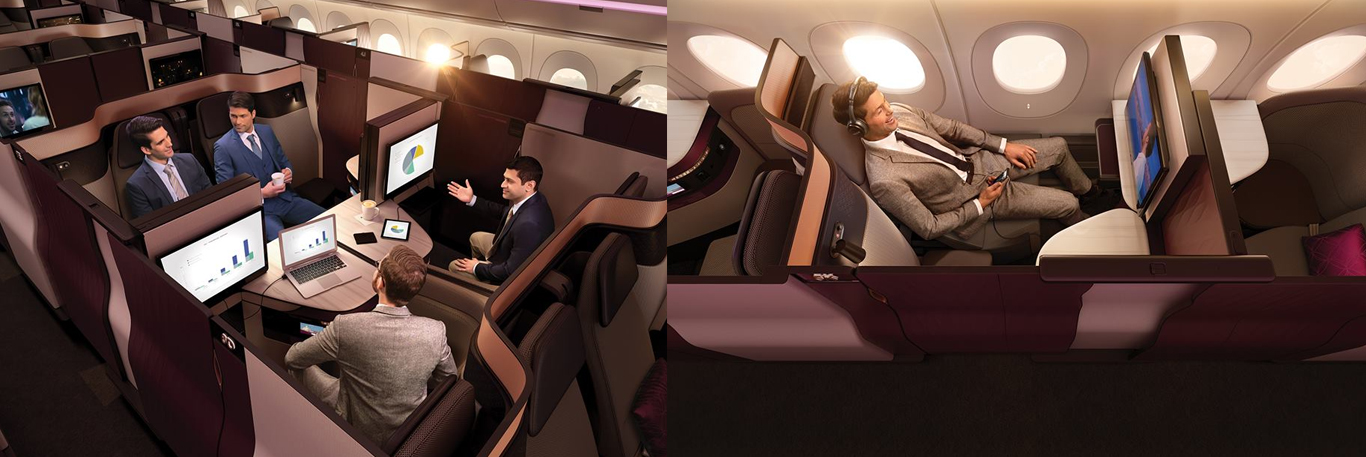 CTA Business Travel Qatar Airways