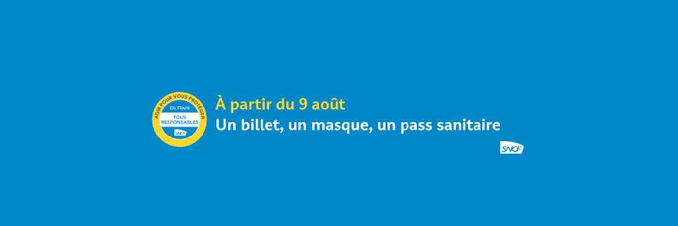 SNCF pass sanitaire